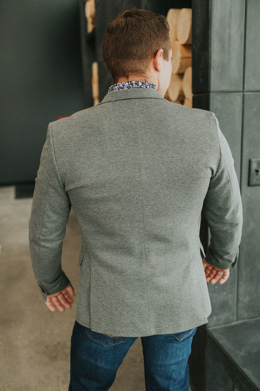 Dexter Sport Coat - Grey