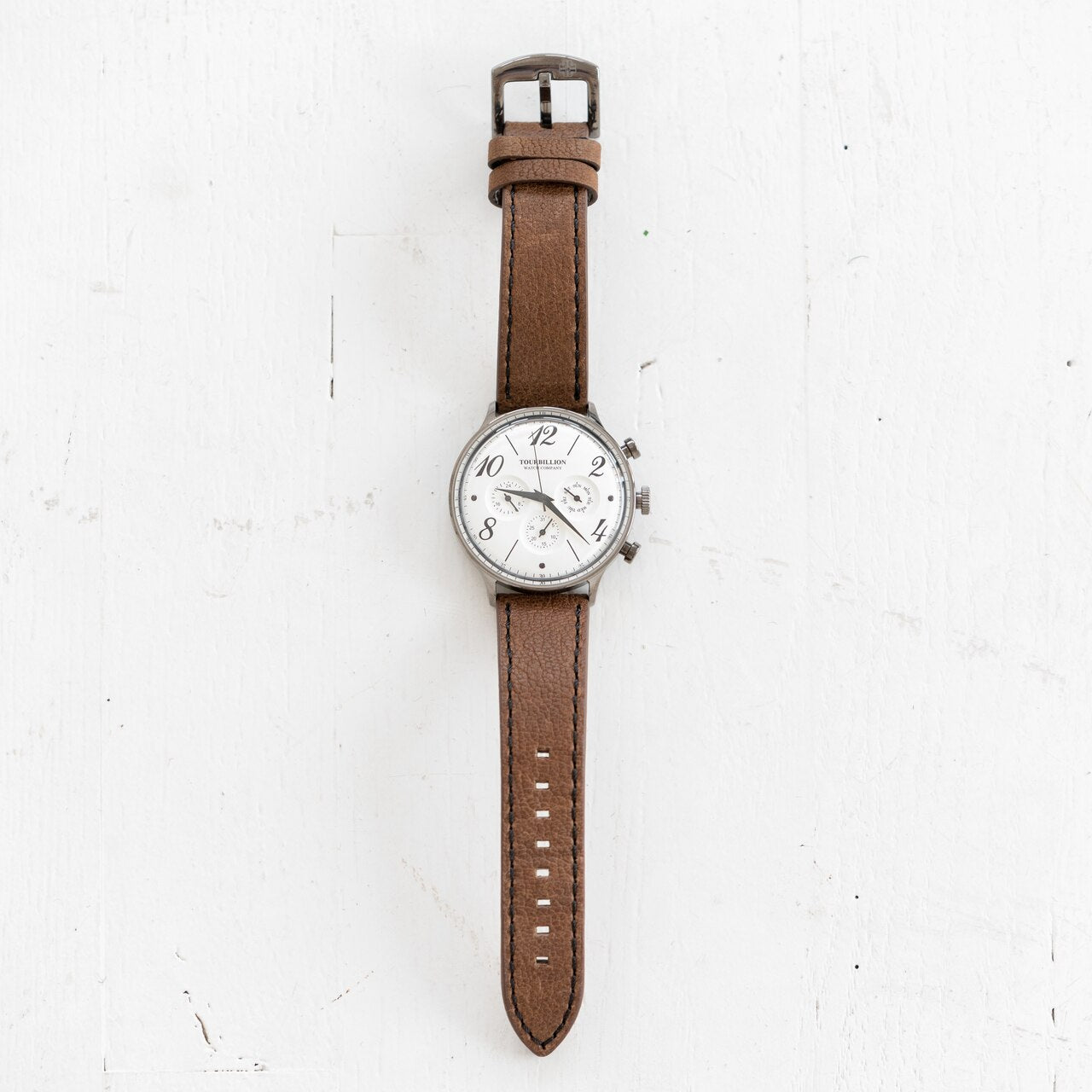 Mens 3 Dial Watch
