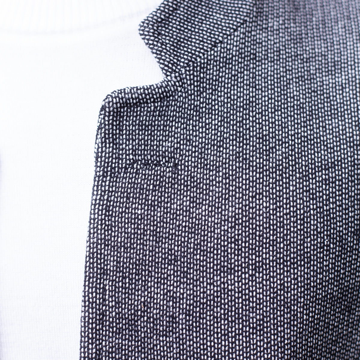 Fulton Cardigan - Black / White