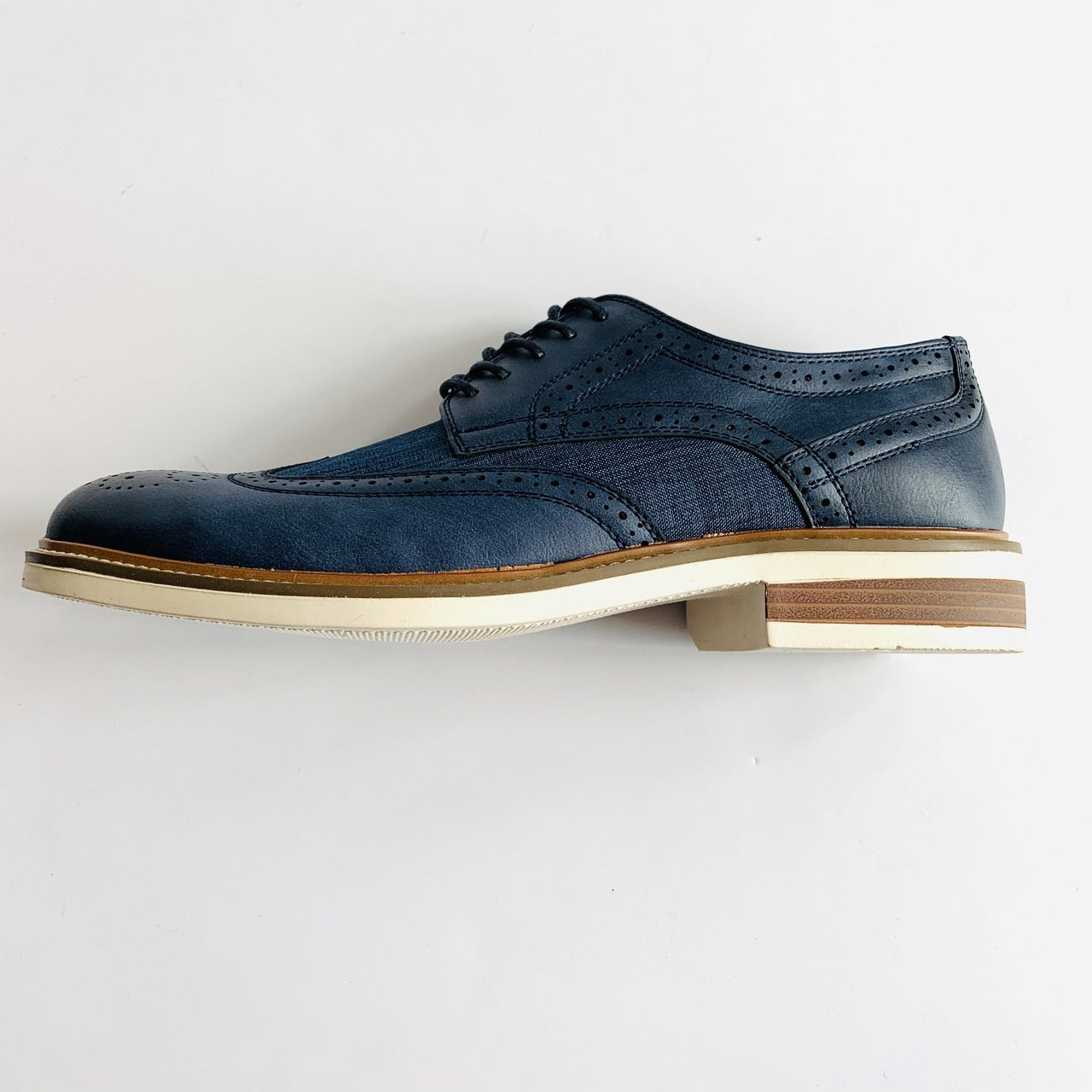 Jimmie Lace-Up Wingtip - Navy