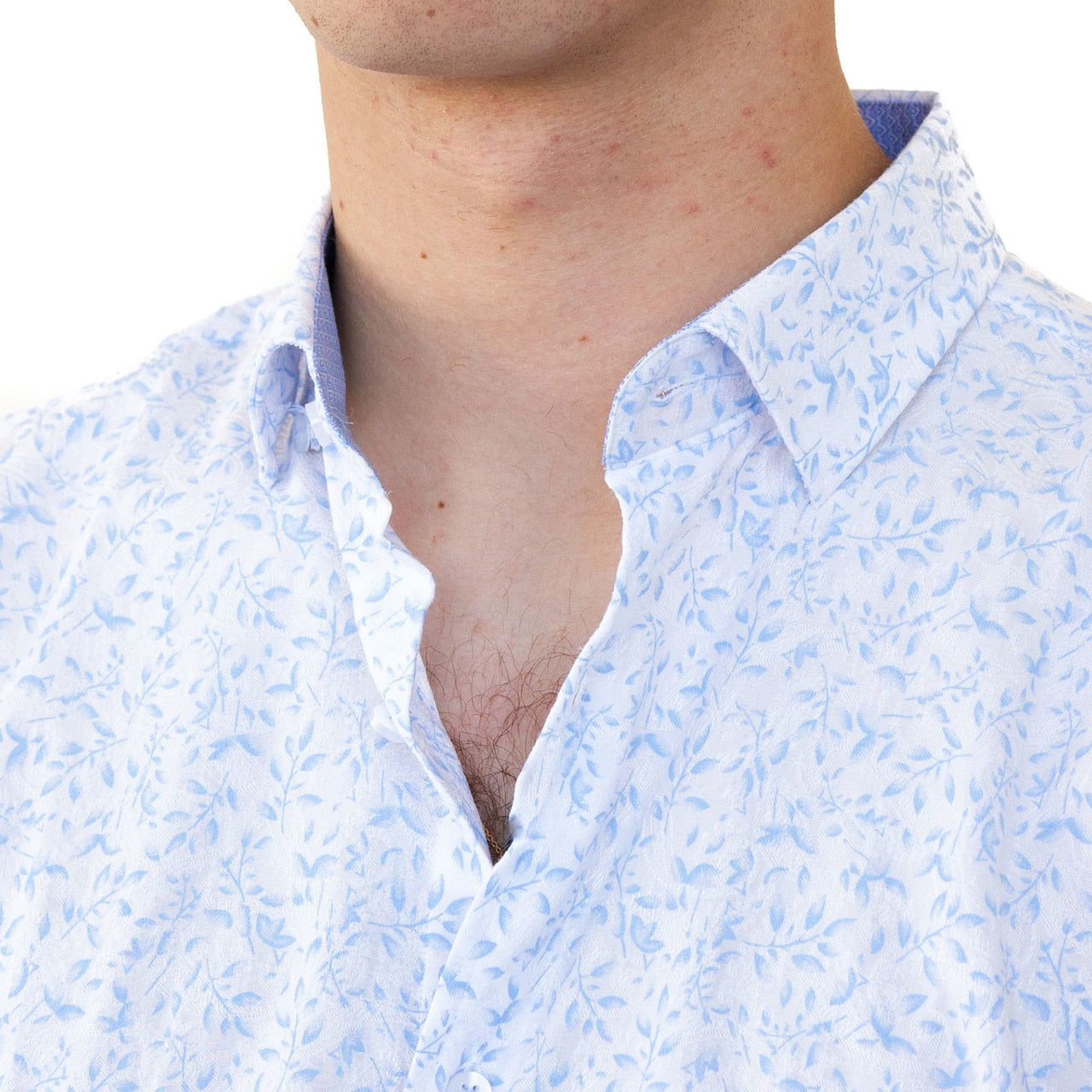 Luke Button Down - Lt. Blue