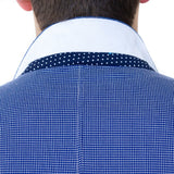 Jacquard Sport Coat with Paisley/Plaid Lining