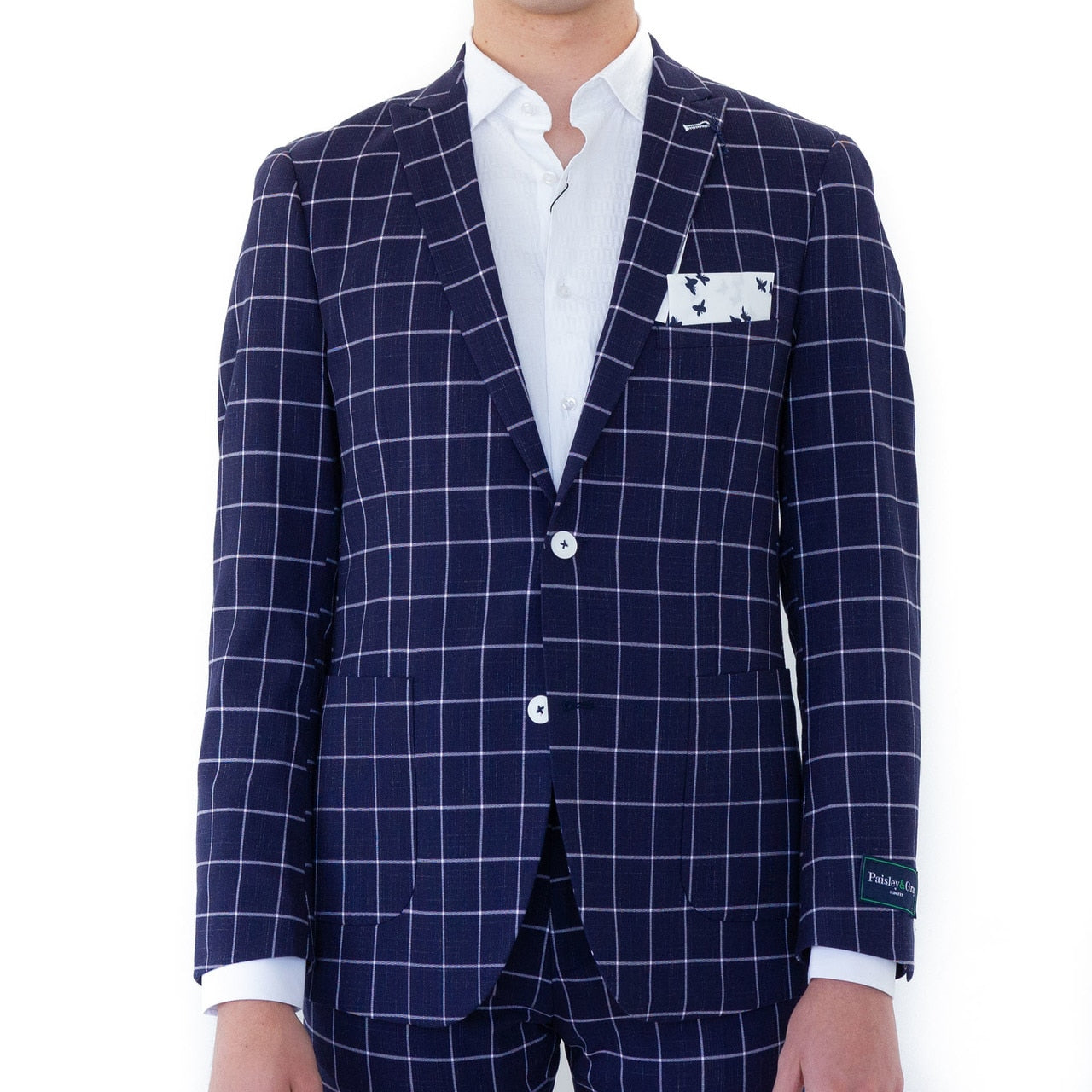 Brody Windowpane Sport Coat