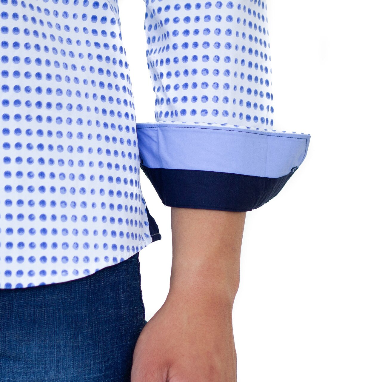 Beckett Dot Button Down