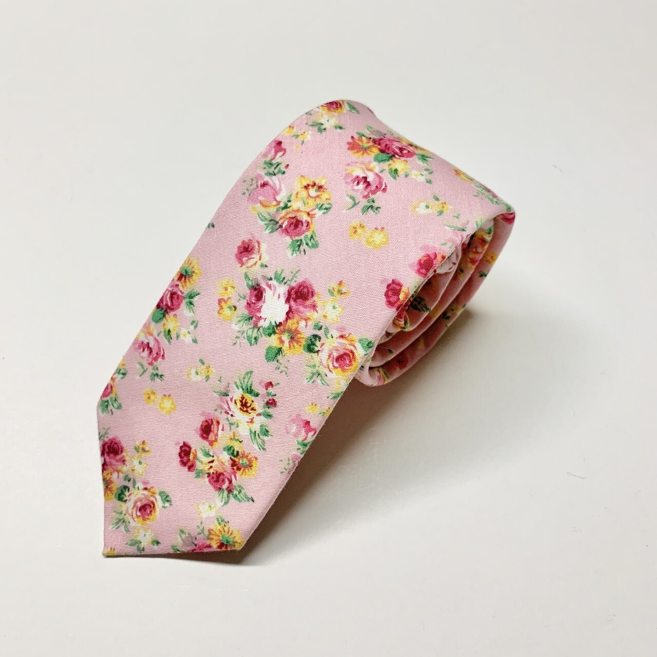 Bloom Slim Tie - Pink