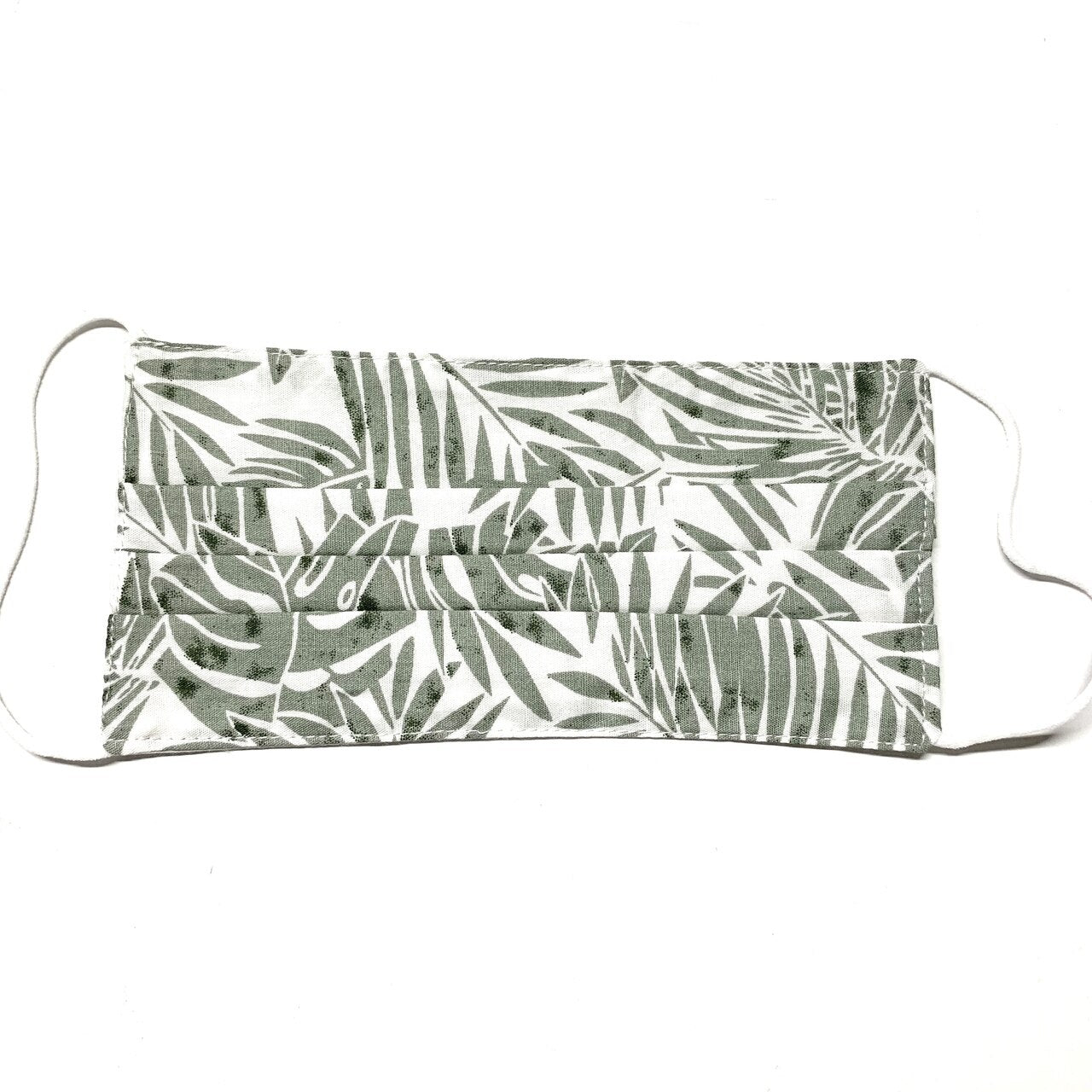 Green Palm Leaf Mask - 39