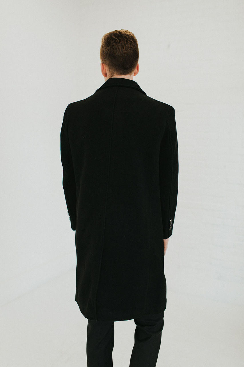 Chapman Black Overcoat