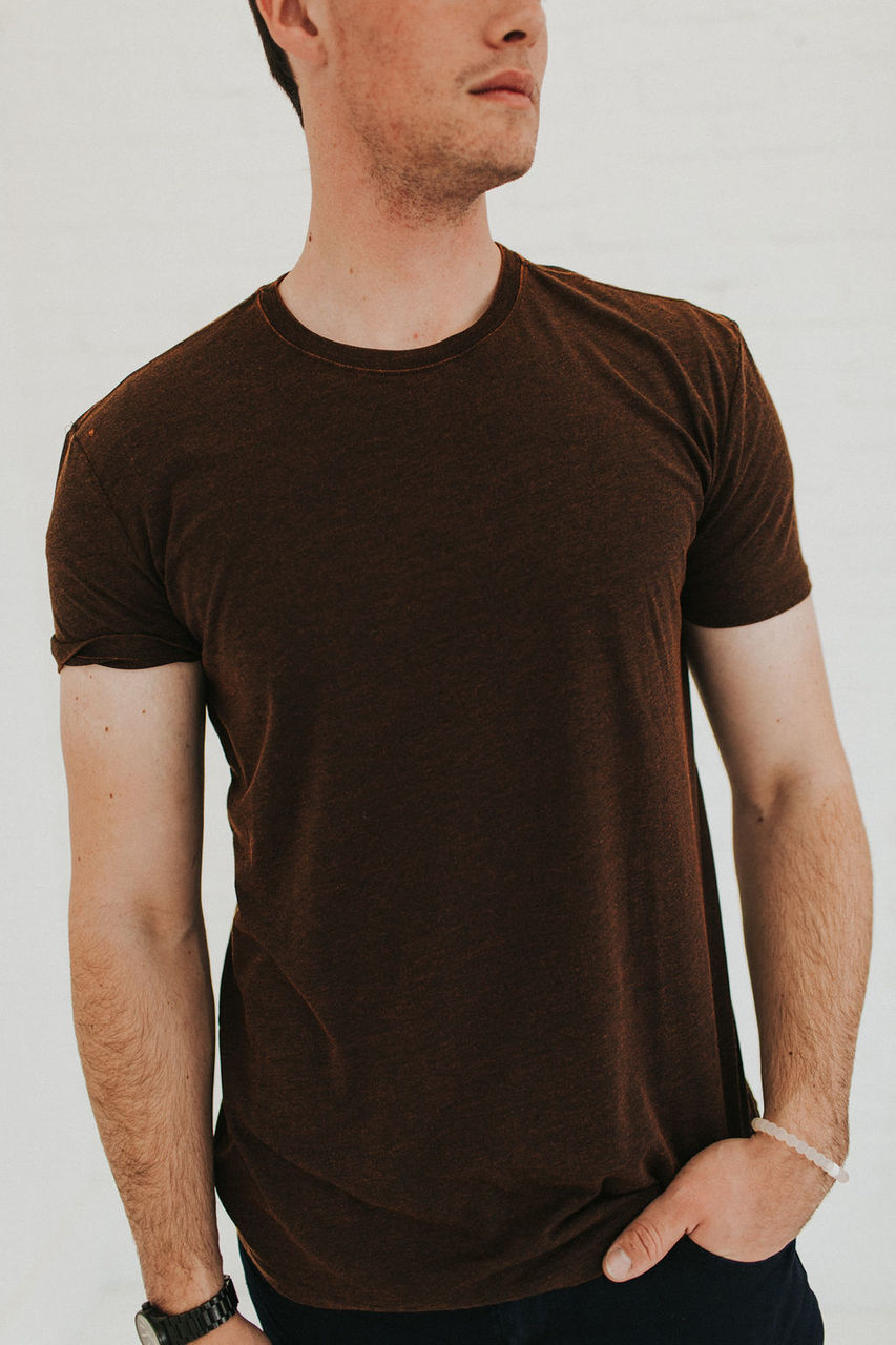 Marcello Cross Dyed T-Shirt