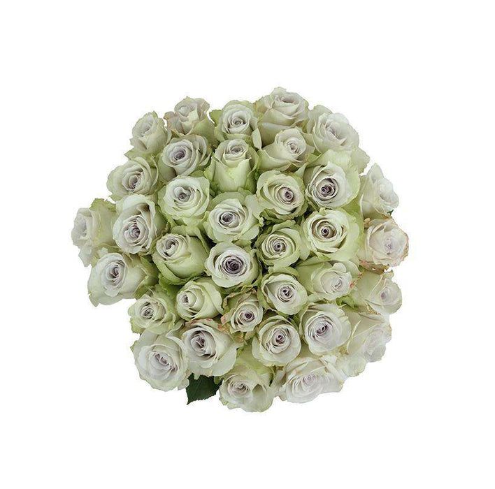 early grey rose bouquet
