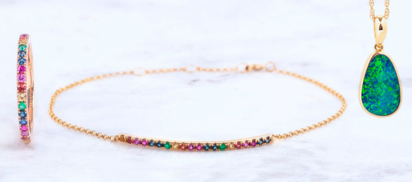 A Case for Color: Rainbow Jewelry
