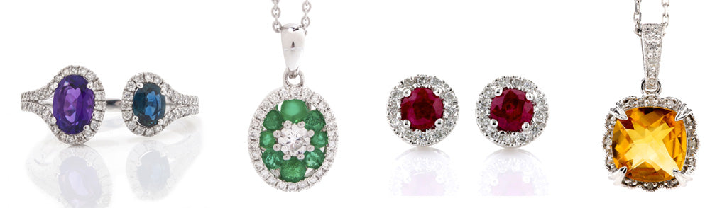 birthstone ring and pendant jewelry