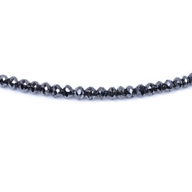 22ct Classic Black Diamond Beads