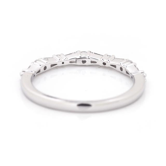 Textured Diamond Stackable Ring