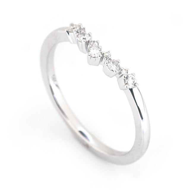 Curved Diamond Ring 2