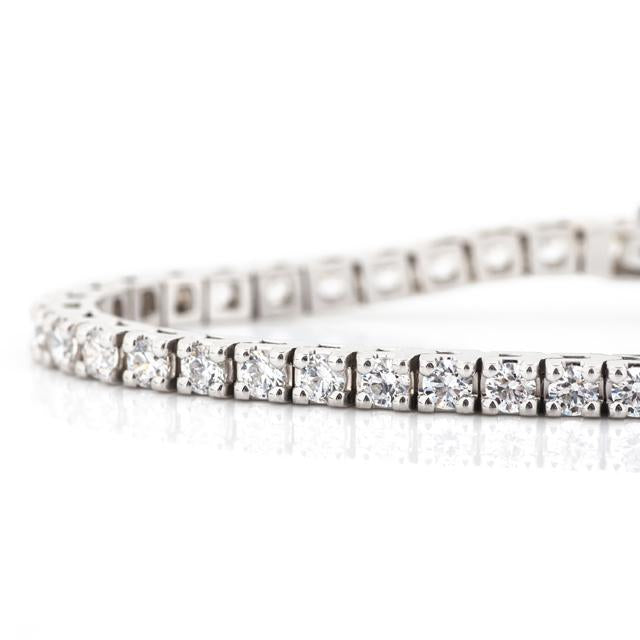 four carat classic diamond bracelet