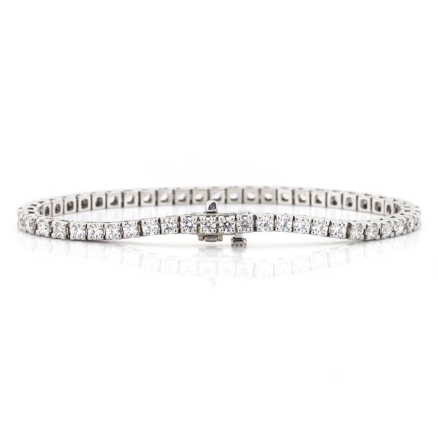 four carat diamond bracelet