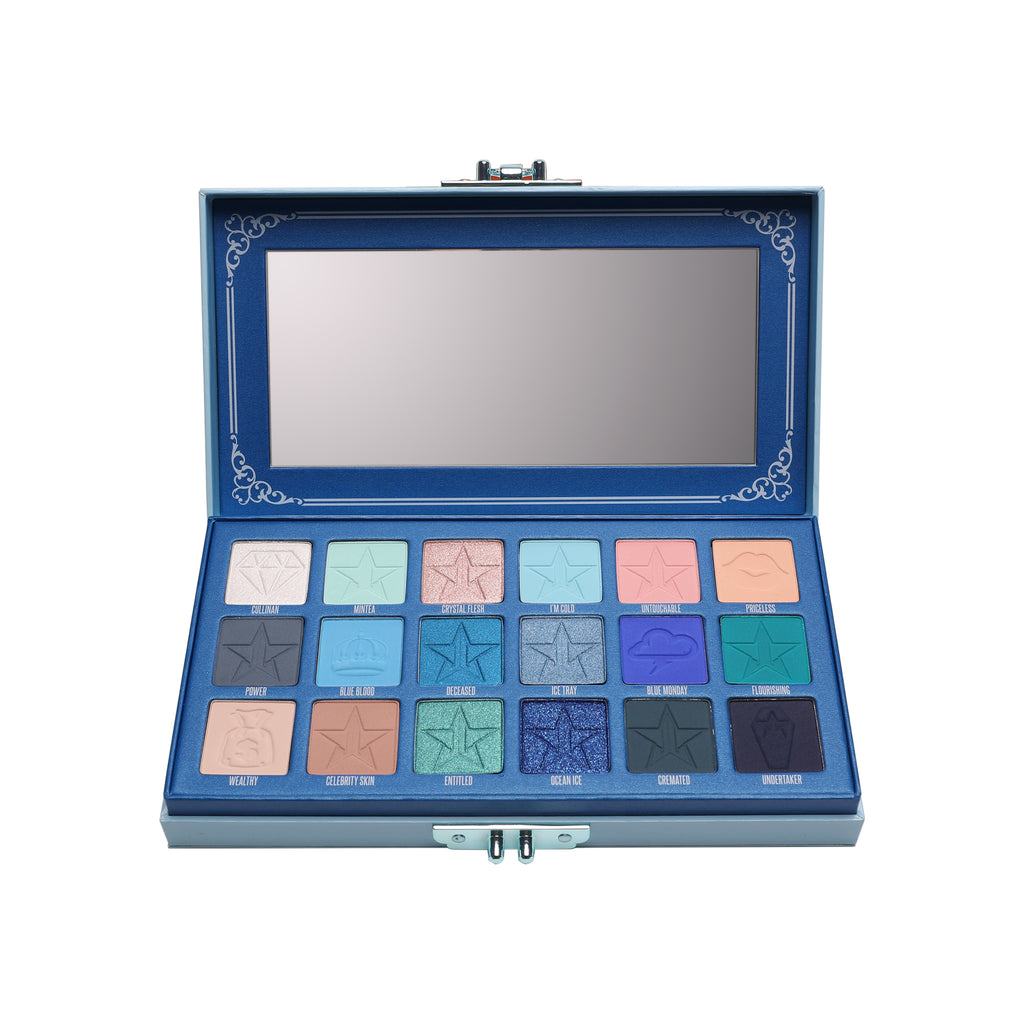 Jeffree Star Cosmetics Eyeshadow Palette - Blue Blood
