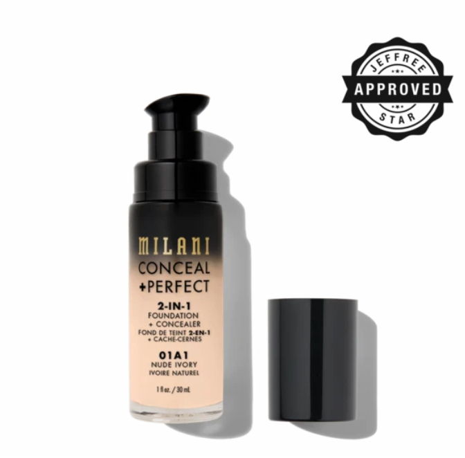 Milani Cosmetics - Conceal + Perfect 2-IN-1 Foundation 30ml