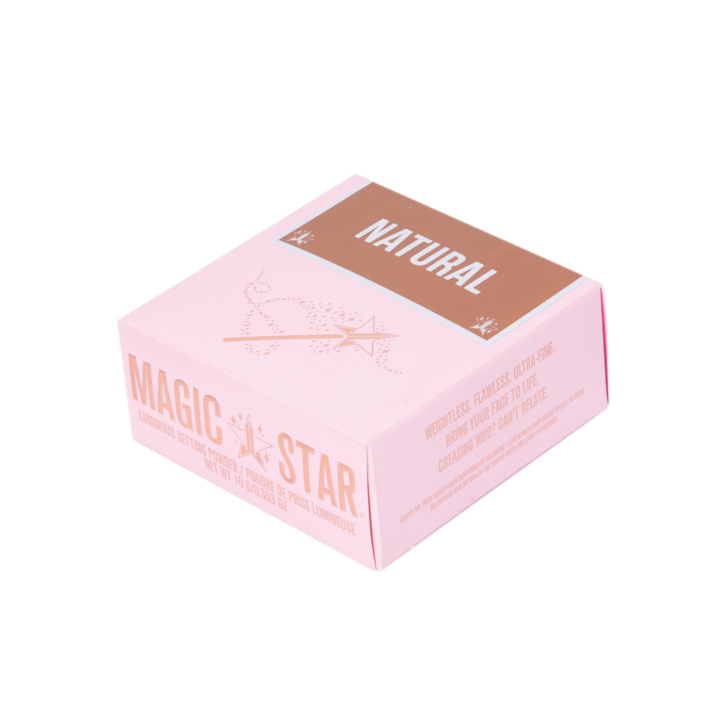 Jeffree Star Cosmetics Magic Star Luminous Setting Pudder - Natural 10g