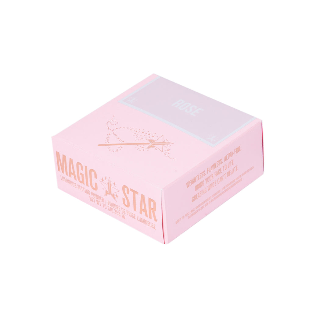 Jeffree Star Cosmetics Magic Star Luminous Setting Pudder - Rose 10g