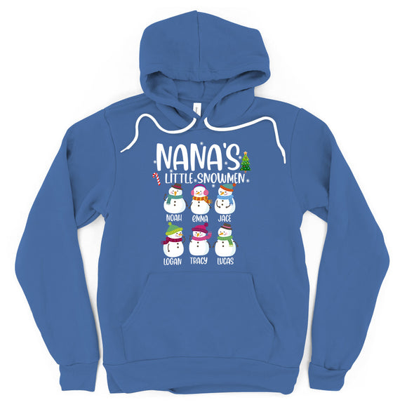 Nana's Little Snowmen | Personalized Hoodie