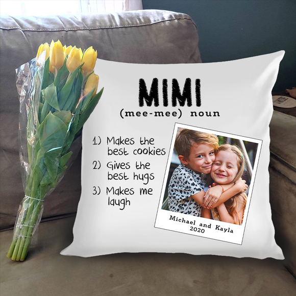 Personalized Family Names Throw Pillow Cover - Pofily