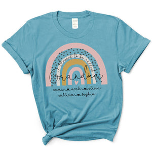 Rainbow - Blessed To Be Call Grandma | T-Shirt