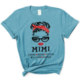 Mimi Face Glasses | Personalized T-Shirt