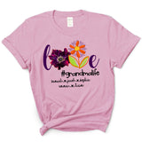 Anemone Love Grandmalife | Personalized T-shirt - Pofily