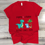 Grandma And Kids Shirt