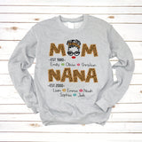 Mom Nana Flower Est