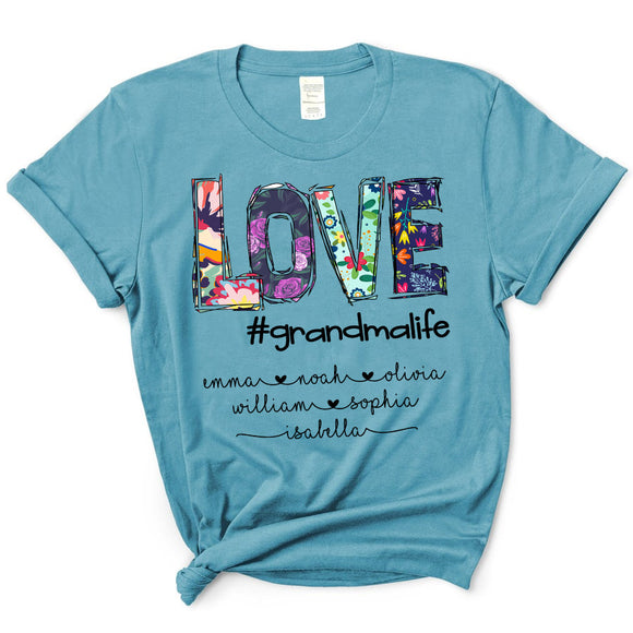 Love Grandmalife | Personalized T-shirt - Pofily