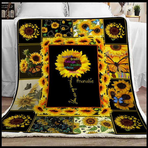 You Are My Sunshine | Personalized Blanket