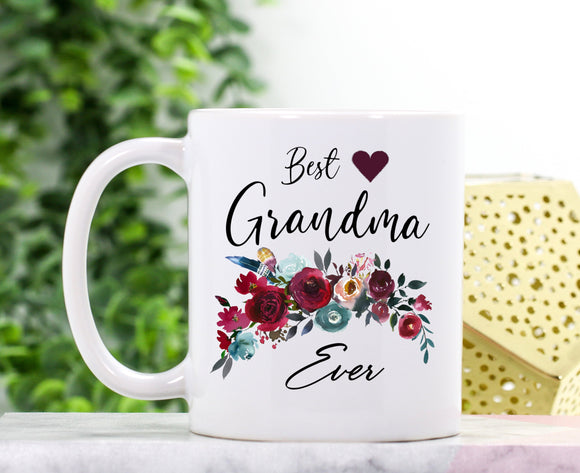 Best Grandma Ever Mug | Personalized Grandma Mug - Pofily