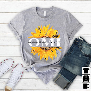 Omi Sunflower | Personalized T-Shirt - Pofily