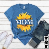 Mom Sunflower | Personalized T-Shirt - Pofily