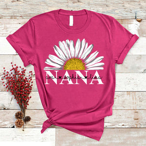 Nana - Daisy | Personalized T-shirt