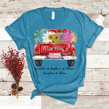 I Love Being Mimi - Truck Flowers Christmas | Personalized T-shirt