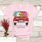 Happiness Is Being A Mimi - Truck Flowers | T-shirt