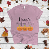 Nana's Pumpkin Patch | V-neck shirt