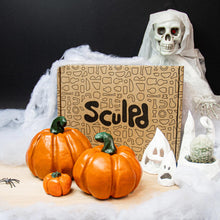 Load image into Gallery viewer, Halloween Pottery Kit & Paints Bundle