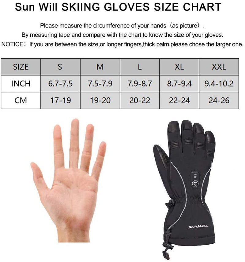 Heated Gloves SW08 | Sun Will
