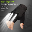 LED  Gloves SAR01 | Savior - Green