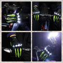 LED Gloves SAR02  | Savior  -Green