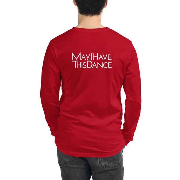 MayI Logo Back Unisex Long Sleeve Tee