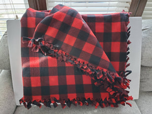 Plaid Double Fleece Blanket