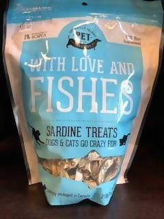 With Love and Fishes Dog Treats