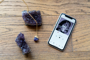 Silatha - Amethyst Rock Jewellry