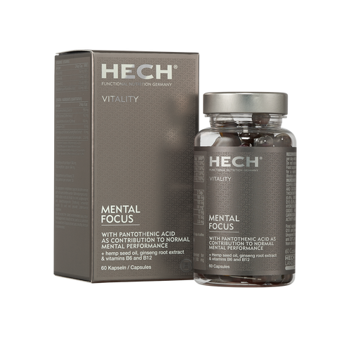 HECH - VITALITY MENTAL FOCUS  60 capsules