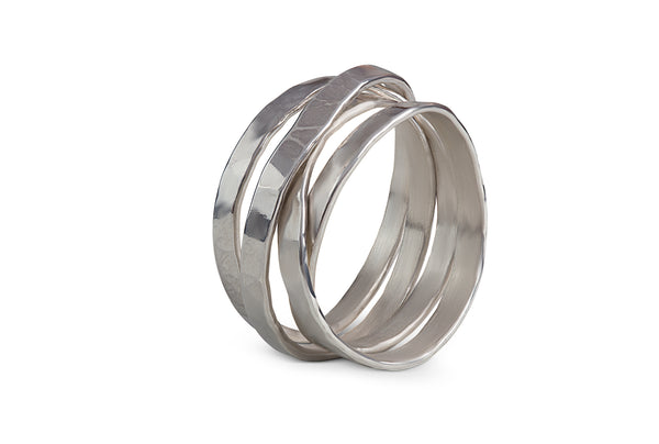 InJewels - Recycled Silver Ring 168€